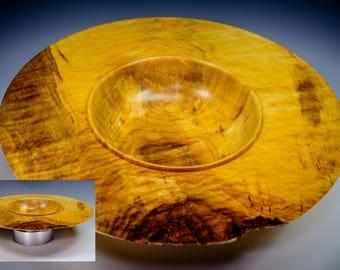 Winged Maple Burl Bowl