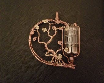 wire wrapped vacuum tube tree of life 3