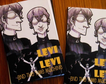 Levi Levi comic - Chapter two:  Levi Levi and the Time Machine