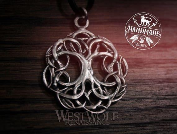 Tree of life pendant yggdrasil the world tree aloadofball Choice Image