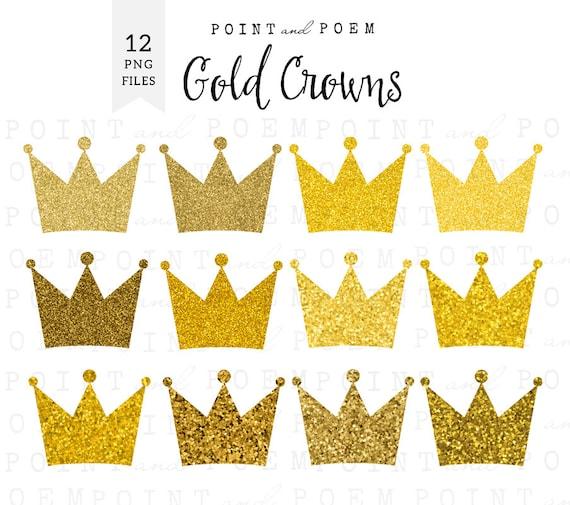 50 off sale crown clip art gold crowns clipart sparkly rh etsy com crown clipart png crown clipart png