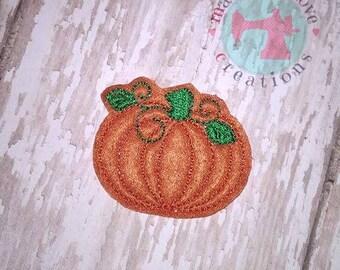 Pumpkin Set of 4 Uncut Felties-Fall Pumpkin Feltie-Custom Feltie-Felties-Fall Felties