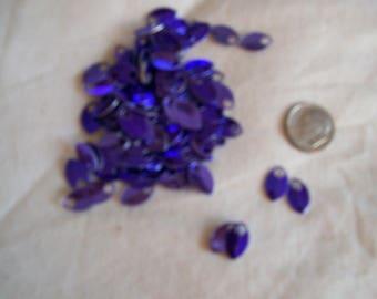 Dragon Scales - Aluminum - Tiny - Purple - Sets of 100