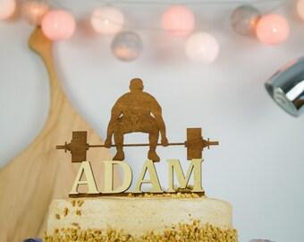 Rustic Birthday Cake Topper, 3D Cake Topper, Birthday Cake Topper, Personalized Cake Topper, Custom Cake Topper, Anniversary Cake Topper