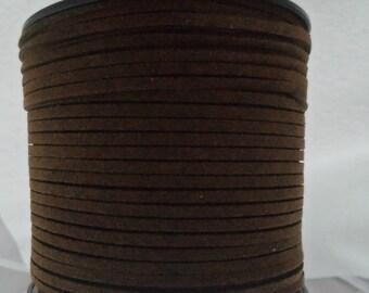 M* - Faux Suede Cord, 5 Meter Spool, Various Colors (2195)