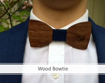 Father's day gift/Wooden bow tie/Wood bowtie/Father's day gift/groom gift/Groomsman gift/boyfriend gift/wedding bow tie