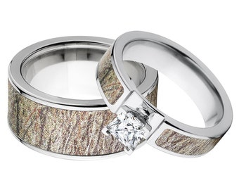 Camo matching rings Etsy