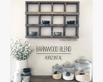 Wall Cubby Organizer - Cubby Shelf - Wall Decor - Wall Cubby Shelf - Cubby Organizer - Farmhouse Decor - Bathroom Shelf - Bath Shelf