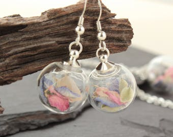 Mini Garden Delight Sterling Silver Drop Earrings