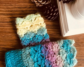 Wrist Warmers, fingerless gloves, mittens