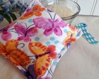 Boo Boo Bag / Ready to ship / Watercolor Butterflies