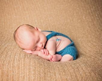 Newborn Romper Knit Mohair Romper Alpaca Romper Newborn Photo Prop
