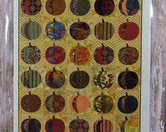 Pumpkins Quilt Pattern - Edyta Sitar - Laundry Basket Quilts - LBQ-0584-P