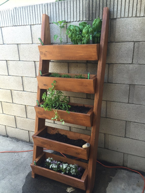 Verticle Tiered Ladder Garden Planter