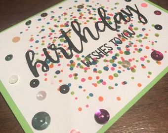 Birthday Wishes to You Greeting Card