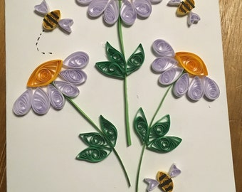 handmade quilling cards