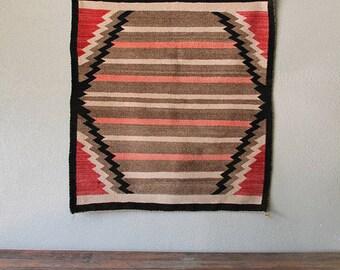 Vintage Navajo Rug/Saddle Blanket
