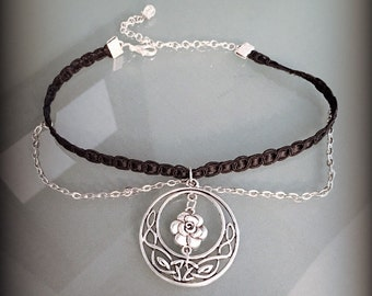 Rose Celtic Choker