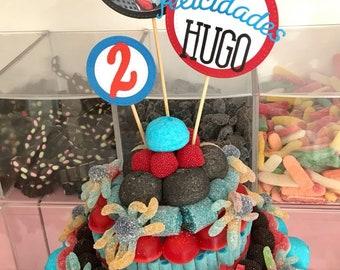 Sweets Cake Spiderman