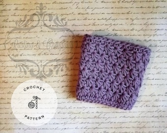 Star Stitch Coffee Cozy Pattern, Crochet