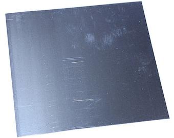 "Nickel Silver Sheet 24ga 6"" x 6"" 0.51mm Thick  (NS24-6)"