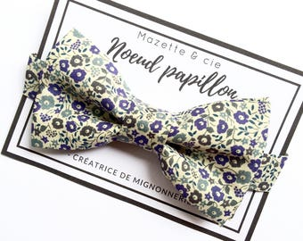 Adult BowTie, liberty of London / wedding, country wedding, baptism