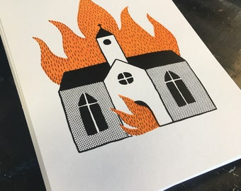 Burning Church #2