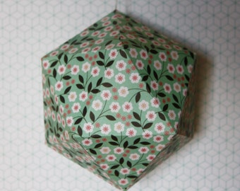 FLOWER#09 - Christmas ball - Spring flowers pattern