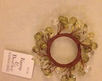 Kemp & Beatlet napkin ring [4 left]