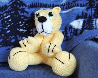 Lion Amigurumi To Go : Amigurumi lioness etsy