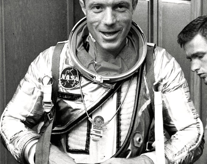 Mercury Astronaut Scott Carpenter - 5X7 or 8X10 NASA Photo (BB-653)