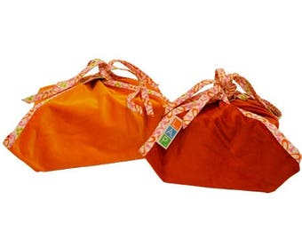 Re-Cover Set Velvet orange