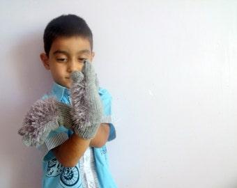 Hedgehog gloves for children-funny, costume, baby, kids, children clothing, gift, birthday, boy, girl