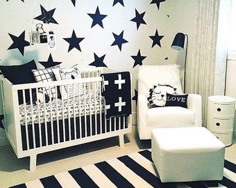Star Wall Decals, Star Wall Designs, Nursery Star Decals, Kids Room Star  Murals
