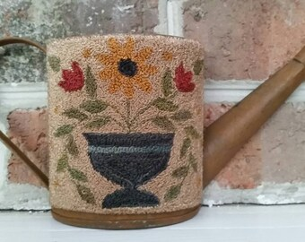 Primitive Decor Punch Needle Embroidery