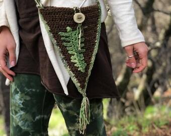 Forest Fern Medicine Bag