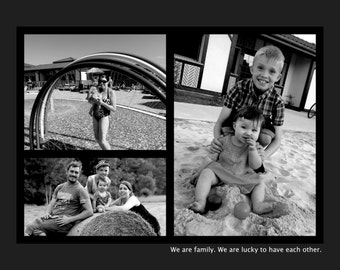 Personalised Mosaic Photo Collage Canvas