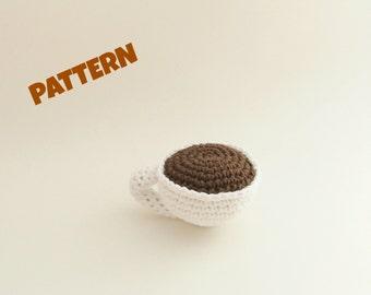 Amigurumi Coffee Pattern, Crochet Coffee Pattern, Crochet Amigurumi Pattern, Crochet Doll Pattern, Amigurumi Doll Pattern, Doll Toy Pattern