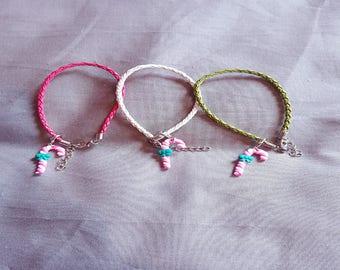 Leather Candy Bracelet