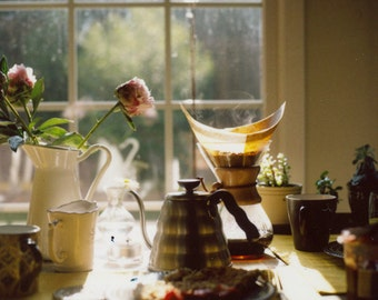 Fine Art Photography, Good Morning Beautiful Print, Photography, Print, Coffee, Morning Scene, Kitchen Photography