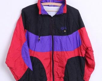 Pro Touch Mens S Jacket Nylon Waterproof Black Sport Vintage