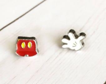 Mix Match Studs  Disney Earrings  Mickey Studs  Disney Trip Jewelry  Mismatched Earrings