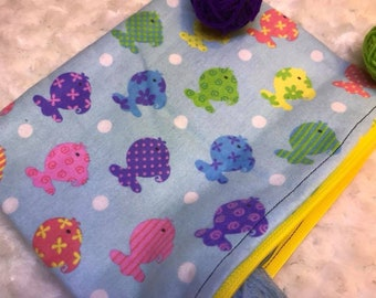 Rainbow Fish Zippered Pouch