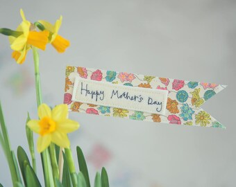 Mothers Day Gift Flag, Mothers Day Message Flag, Happy Mothers Day