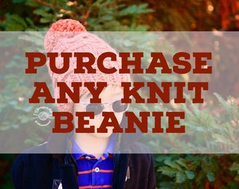 Any Knit Beanie   Slouch Beanie   Knit Hat   Knit Beanie   Cabled Hat   Cabled Beanie