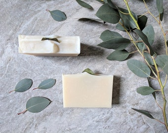 All Natural Soap Eucalyptus Soap Coconut Milk Soap Handmade Soap Natural Skincare Rosemary Essential Oil Homemade Soap Cold Process Soap
