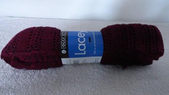 Berroco Lacey Garn Rüschen Schal Wolle-Acryl-Nylon-Mischung