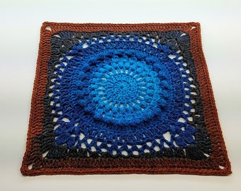 Crochet Galaxy Granny Square Pattern DIGITAL DOWNLOAD ONLY