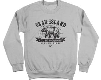 Bear Island House Mormont Got Game Of Thrones Story Crewneck Sweatshirt DT1903