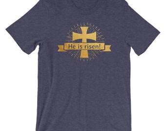 He is Risen! Cross & Sunbeams T-Shirt